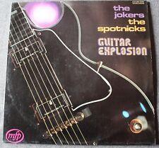 The Jokers + The Spotnicks, guitare explosion , LP - 33 tours