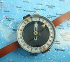 Vintage USSR Original Compass Military Soviet Army Hand Wrist Russian Adrianov1