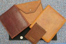 Vintage Leather Writing/Documents Case/Folder (4 items)
