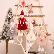 Cute Plush Angel Doll Pendant Christmas Ornament Xmas Tree Hanging Party Decor