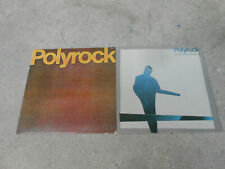 POLYROCK-PHILIP GLASS-2 LP'S-CHANGING HEART-S/T-RCA AFL1 3714/4043-NM
