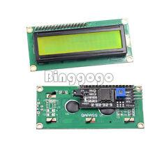 Yellow LCD I2C Modul LCD1602 16x2 Zeichen Display HD44780 Arduino Raspberry Pi