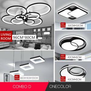Modern bedroom living room acrylic Led Chandelier Lighting Lamp Ceiling Pendant