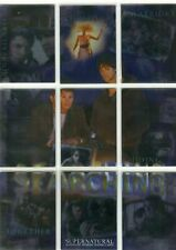 Supernatural Season 1 Full set of 9 Foil Chase Cards SEARCHING  S-1 to S-9
