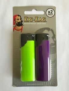 NEW TWIN PACK LIGHTERS REFILLABLE GAS WINDPROOF LIGHTER CHILD SAFETY RESISTANT