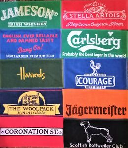 10 Ten Different Beer - Bar Towels - New Lot 3
