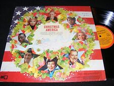 CHRISTMAS AMERICA Capitol Special Products Holiday LP Peggy Lee ELLA FITZGERALD