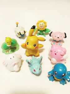 Vintage Pokemon 1990s LOT 9 Pokemon Toys Pikachu And Others One Owner 1990s