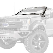 For Ford F-250 Super Duty 17-20 Fab Fours ViCowl Black Windshield Protection