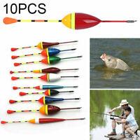 10 Stück Allround Angel Posen 0,6 - 4,5g Angelpose Set Laufpose Schwimmer Float