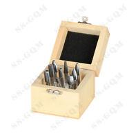 Tungsten Carbide Rotary Burr Set Single Cut 6MM Shank Die Grinder Polishing Bits