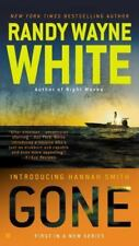RANDY WAYNE WHITE pb GONE Bk 1 HANNAH SMITH MYSTERY Tall, easy-read format