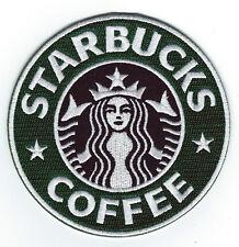 "☕New 4"" STARBUCKS COFFEE 100% Embroidered Sew/Iron-on PATCH! Seattle/Washington"