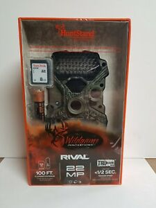 WILDGAME INNOVATIONS RIVAL 22 TRUBARK LOW GLOW TRAIL GAME CAMERA