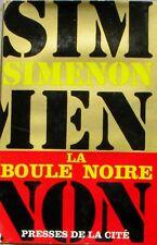 La Boule noire  - Georges Simenon - Policier - Presse de la cité 1966