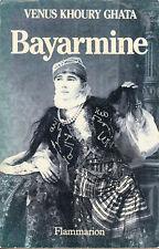 Livre Bayarmine Vénus Khoury Ghata book