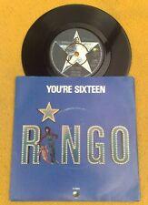 "Ringo Starr "" You'Re Sixteen ""Sensational NM Orig UK 7"" Rare Pic Sleeve"