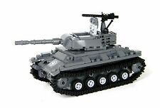 Basic US Army Chaffee Tank World War 2 Complete Set made w/ real LEGO® bricks