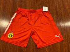 2017-18 Puma Men's Borussia Dortmund Striker Soccer Jersey Shorts XL Extra Large