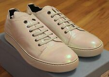 Lanvin Cap Toe Iridescent Leather Sneakers Size 11 UK / 12 US Brand New