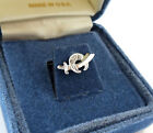 Shriners Sterling Silver Pin Tie Tack New Old Stock in Gift Box