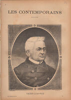 Adolphe Thiers Président FRANCE JOURNAL COMPLET 16 PAGES 1893