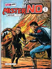 ¤ MISTER NO n°81 ¤ 1982 MON JOURNAL