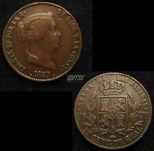 *GUTSE*316-ISABEL II, 25 CENTIMOS DE REAL 1859, SEGOVIA