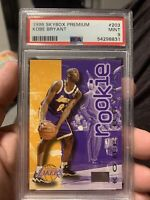 1996 Skybox Premium #203 Kobe Bryant PSA Mint 9