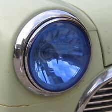 2xHalogen H4 Blue tint Angel Eye Headlamp Asutin Morris classic mini retro LED