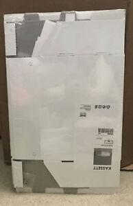 5 IKEA Home Office KASSETT Magazine File Organizer Box Metal Label Holders 21074
