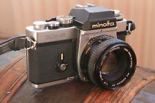 Minolta XE-5. 35mm Film SLR.  + Minolta 50mm F/1.7 MC ROKKOR PF.VGC