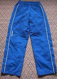 Bauer Children Pants Sweatpants Hockey Skii Winter Hiking Skating Size M Blue