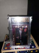 Kyrie Irving Cracked Ice rookie 9.5 Sub Graded