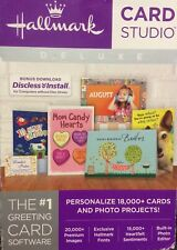 Hallmark Card Studio Deluxe Greeting Card Software, New Sealed Cards & projects