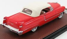 wonderful modelcar CADILLAC Series 62 Convertible 1956 closed top - red -  1/43