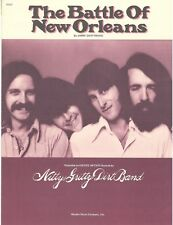 "THE NITTY GRITTY DIRT BAND ""THE BATTLE OF NEW ORLEANS"" SHEET MUSIC-1959-RARE-NEW"