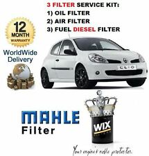 Para Renault Clio 1.5DCi Td 9 / 2005   > Nuevo Aceite Aire Combustible (3) Kit