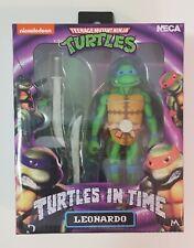 NECA TMNT turtles in time Leonardo