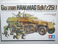 Tamiya 1/35 German HANOMAG Sd.Kfz.251/1 blindé Half-Track Model Kit Voiture #35020
