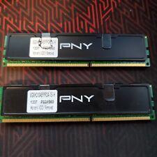 PNY XLR8 DDR3 8GB (2x4GB) 1600MHz (PC3-12800)