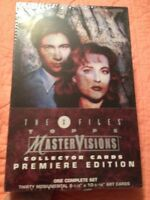 X Files Collector Cards TOPPS Master Visions Premiere Edition COMPLETE SET 1995