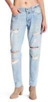 Lucky Brand Women's 6/28 - NWT$129 Sienna Slim Boyfriend Factory Destroyed Jeans