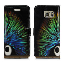 NEW LEATHER WALLET BOOK FLIP PHONE CASE COVER FOR SAMSUNG GALAXY ALL A3 A5 A7 A8