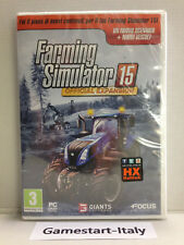 FARMING SIMULATOR 15 OFFICIAL EXPANSION (PC COMPUTER) VIDEOGIOCO NUOVO SIGILLATO