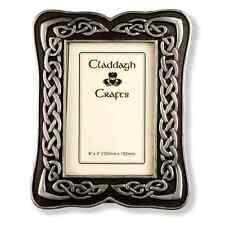 Silver Claddagh Celtic Frame (CC11) - Island Turf Crafts