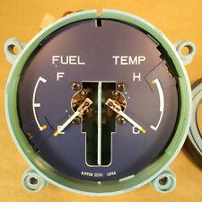 Late 70s Honda Civic NIPPON SEIKI JAPAN Fuel and Temperature Gauge TU FU