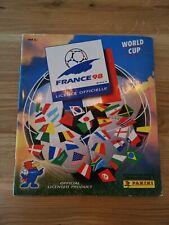 Panini WM 98 Sammelalbum WC 1998 France Stickeralbum + Bestellschein