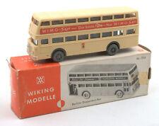 Wiking HO 1:87 Berliner Doppeldeck Bus Nr.72d 1970s *BOXED* (8)