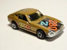 Vintage Zylmex Gold Fairlady Z 280 Die-cast Toy Car